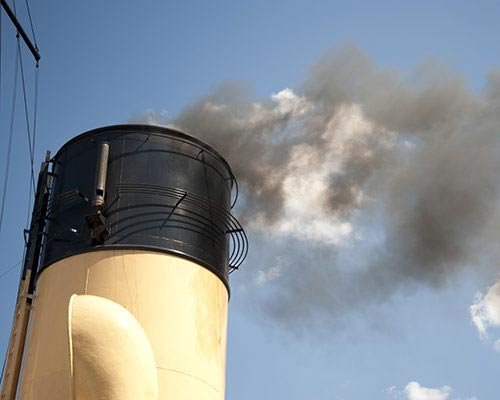 The global sulphur cap regulations can be met with Flue Gas Scrubbers.